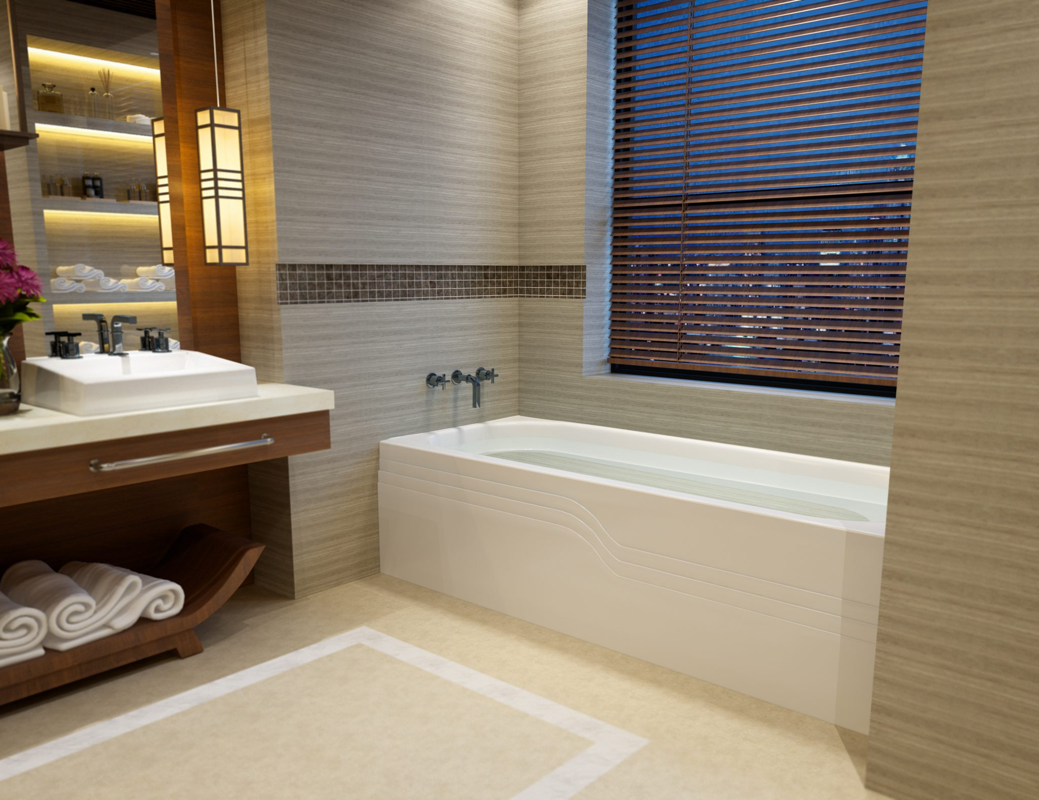 30×60 Skirted Bathtub ...