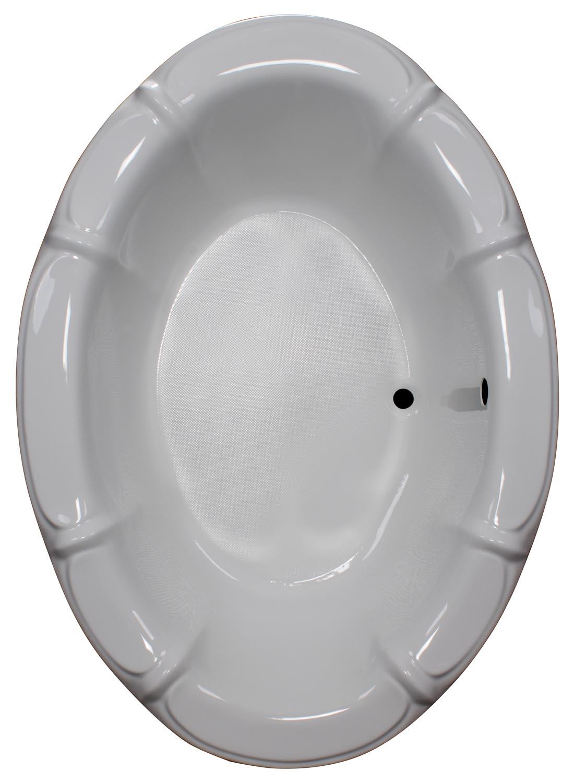 48x68 Oval Drop In Bathtub BR-18 - BathTubs.com
