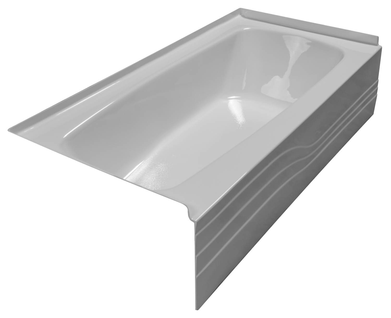 30x60 Skirted Bathtub BR-26 Left Hand - BathTubs.com