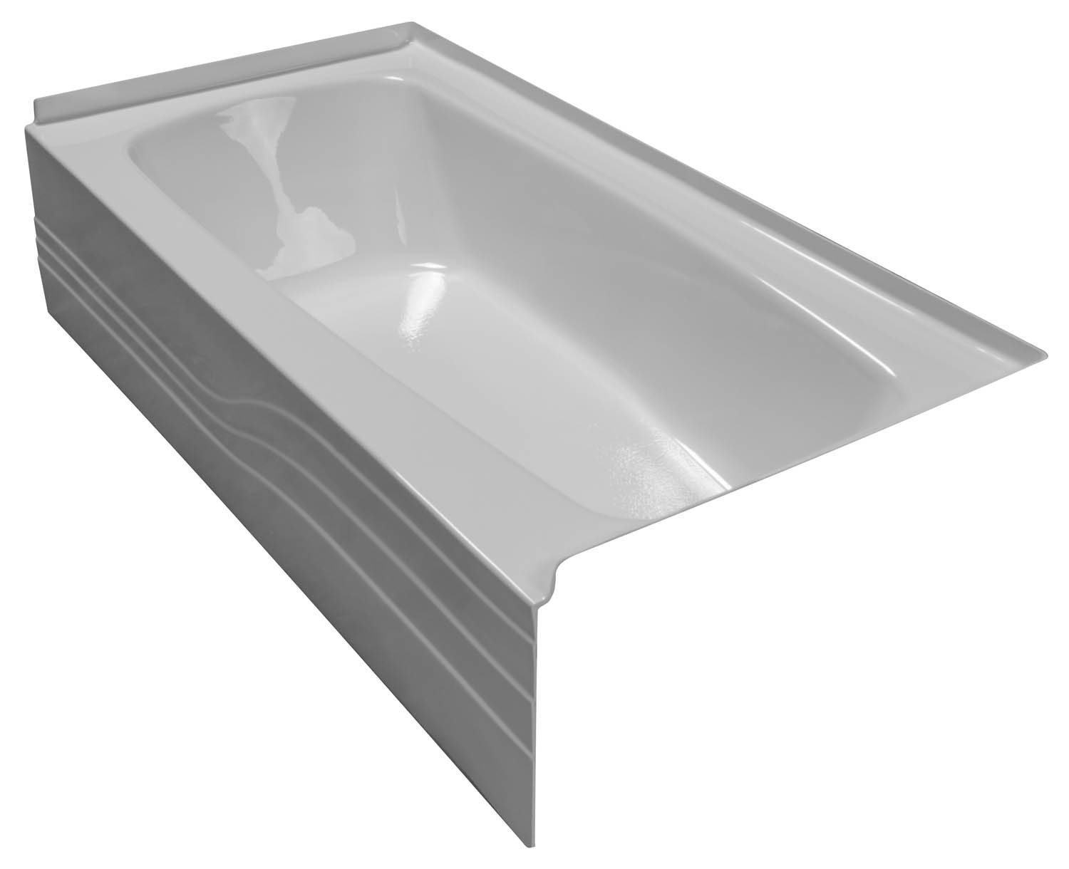 30x60 Skirted Bathtub BR-26 Right Hand - BathTubs.com