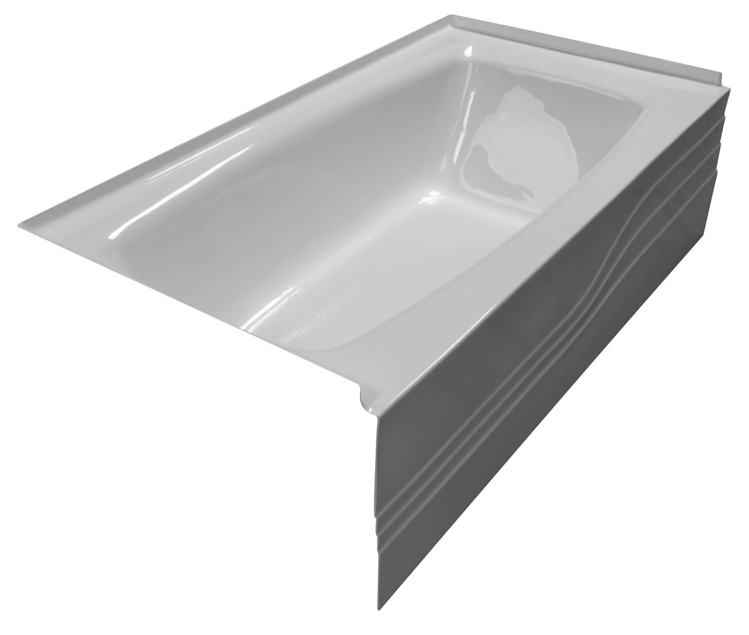 32x60 Skirted Bathtub BR-27 Left Hand - BathTubs.com