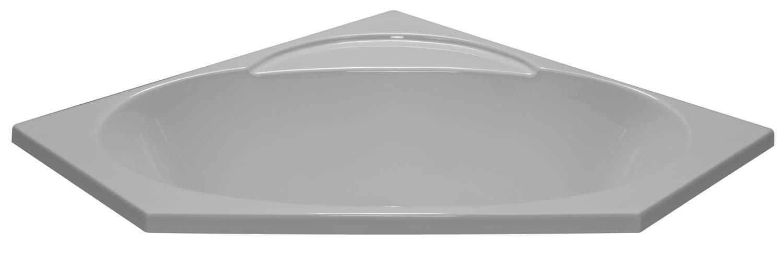 48x48 Corner Tub BR-49 - BathTubs.com