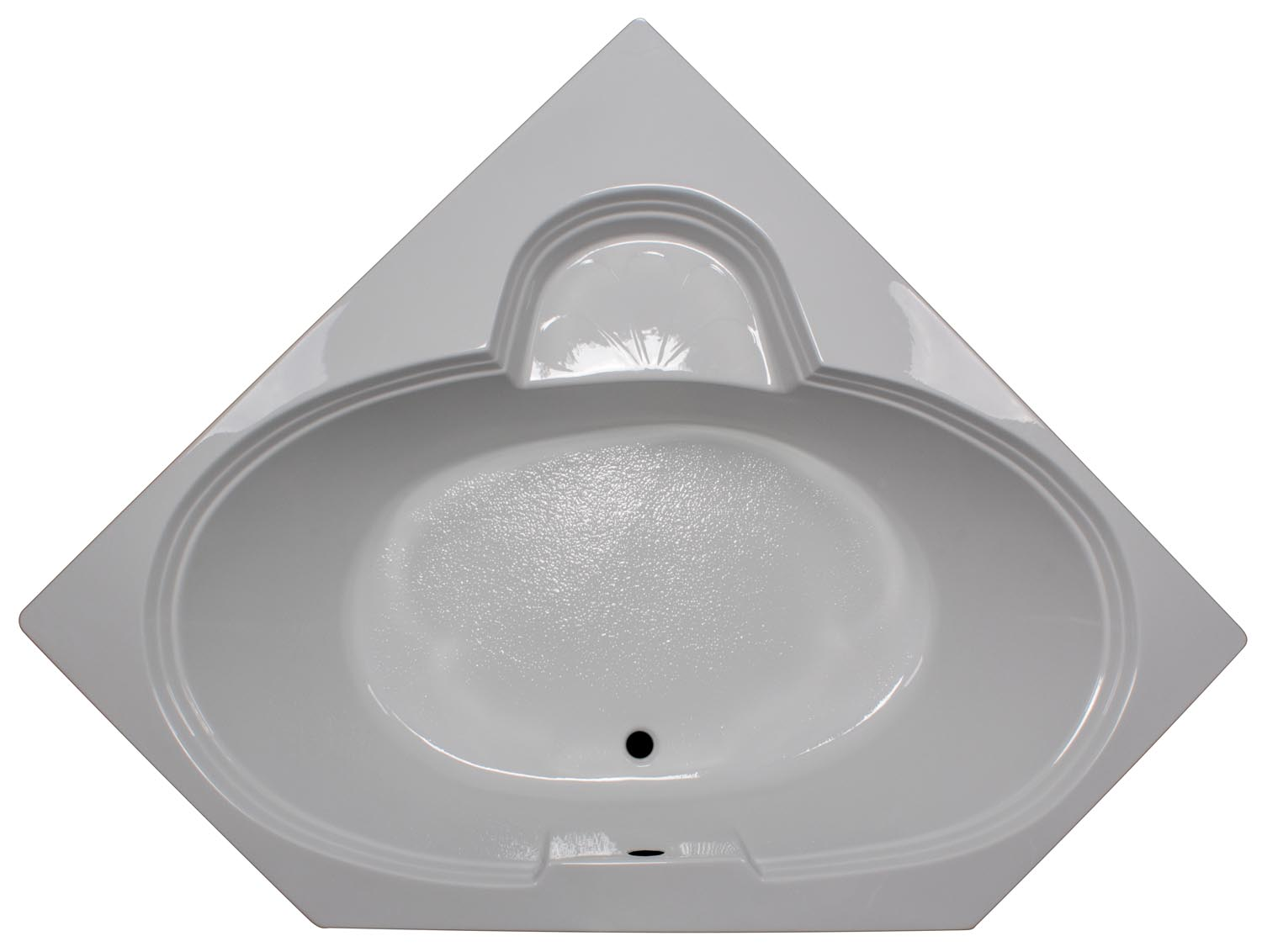 60×60 Oval Corner Bathtub With Seat BR 58