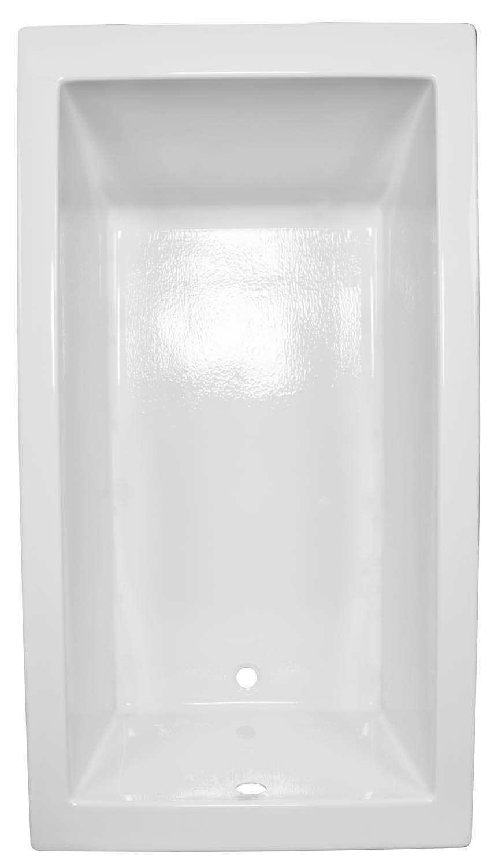 36x66 Modern Rectangle Bathtub BR-63 - BathTubs.com