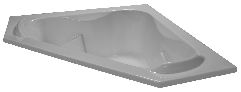 60x60 Double Armrest Corner Bathtub BRA-42 - BathTubs.com