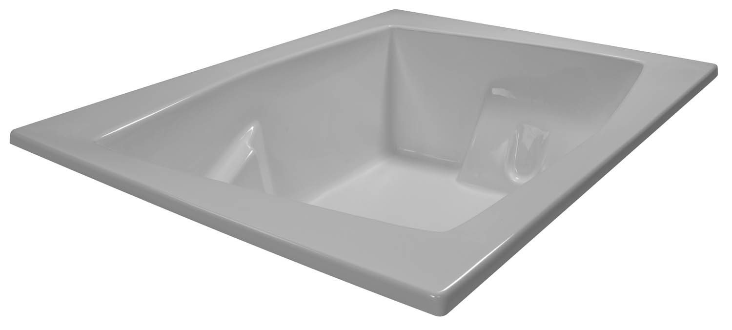 54x72 Armrest 2 Person Bathtub BRA-53 - BathTubs.com
