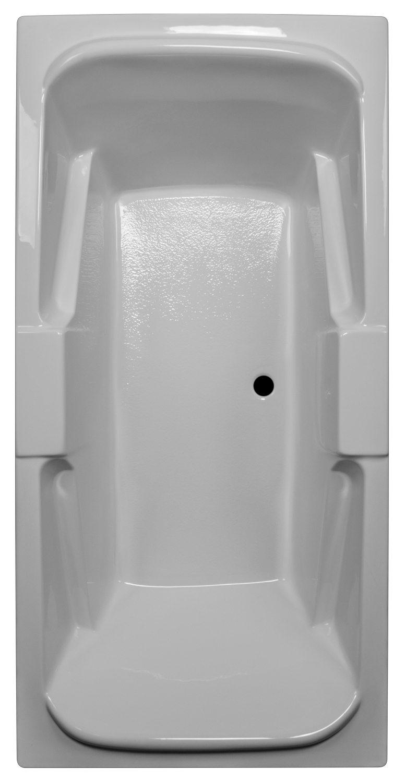 36x72 Armrest Bathtub BRA-56 - BathTubs.com