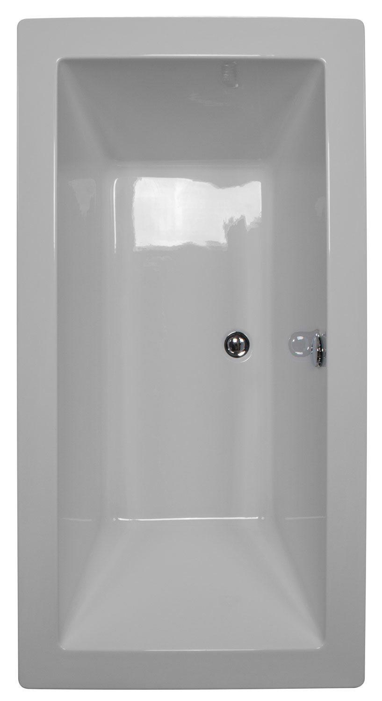 59x31.5 Freestanding Rectangular Bathtub BRF-90 - BathTubs.com