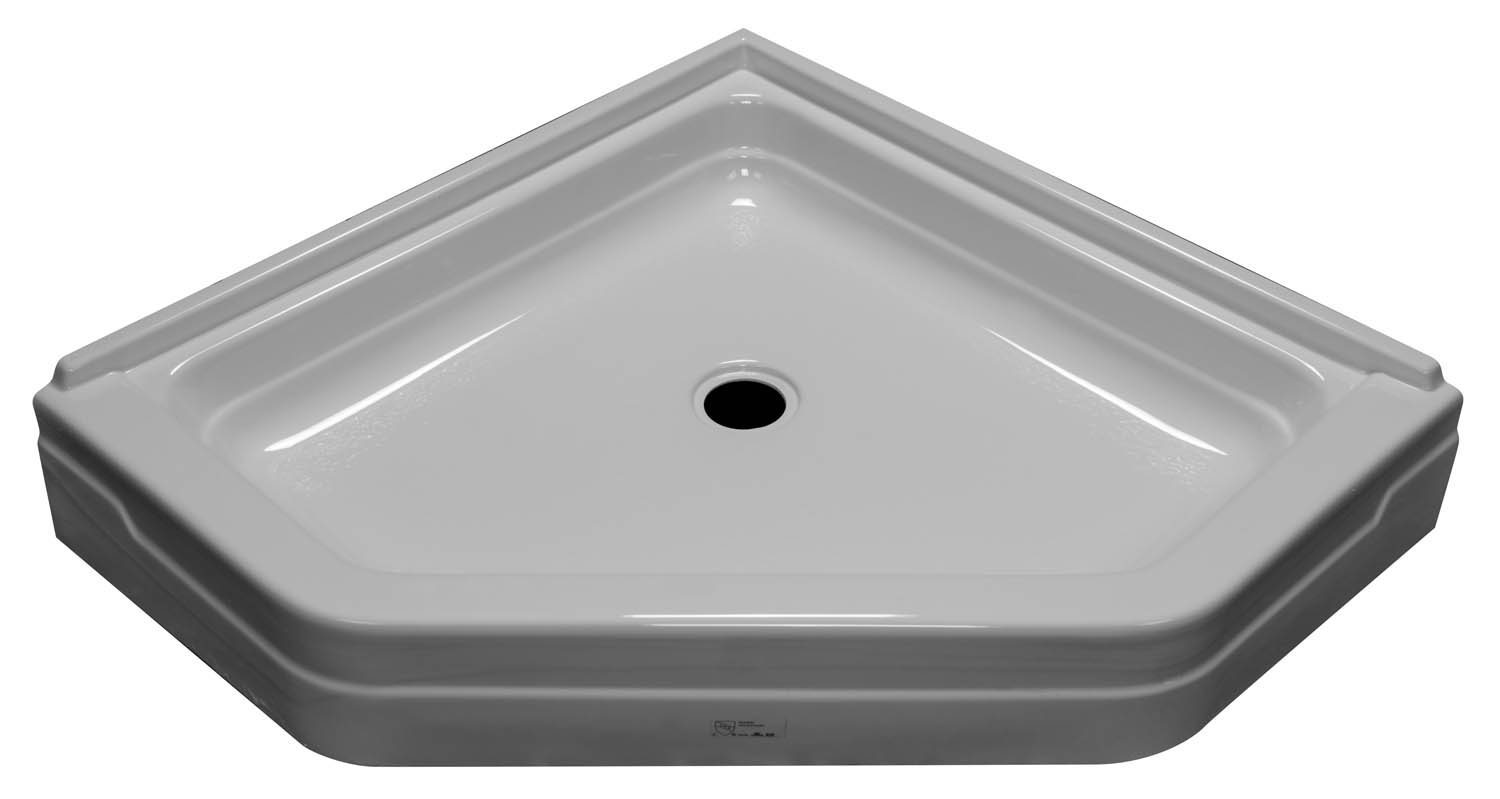 38×38 Neo Angle Shower Pan SP 3838N