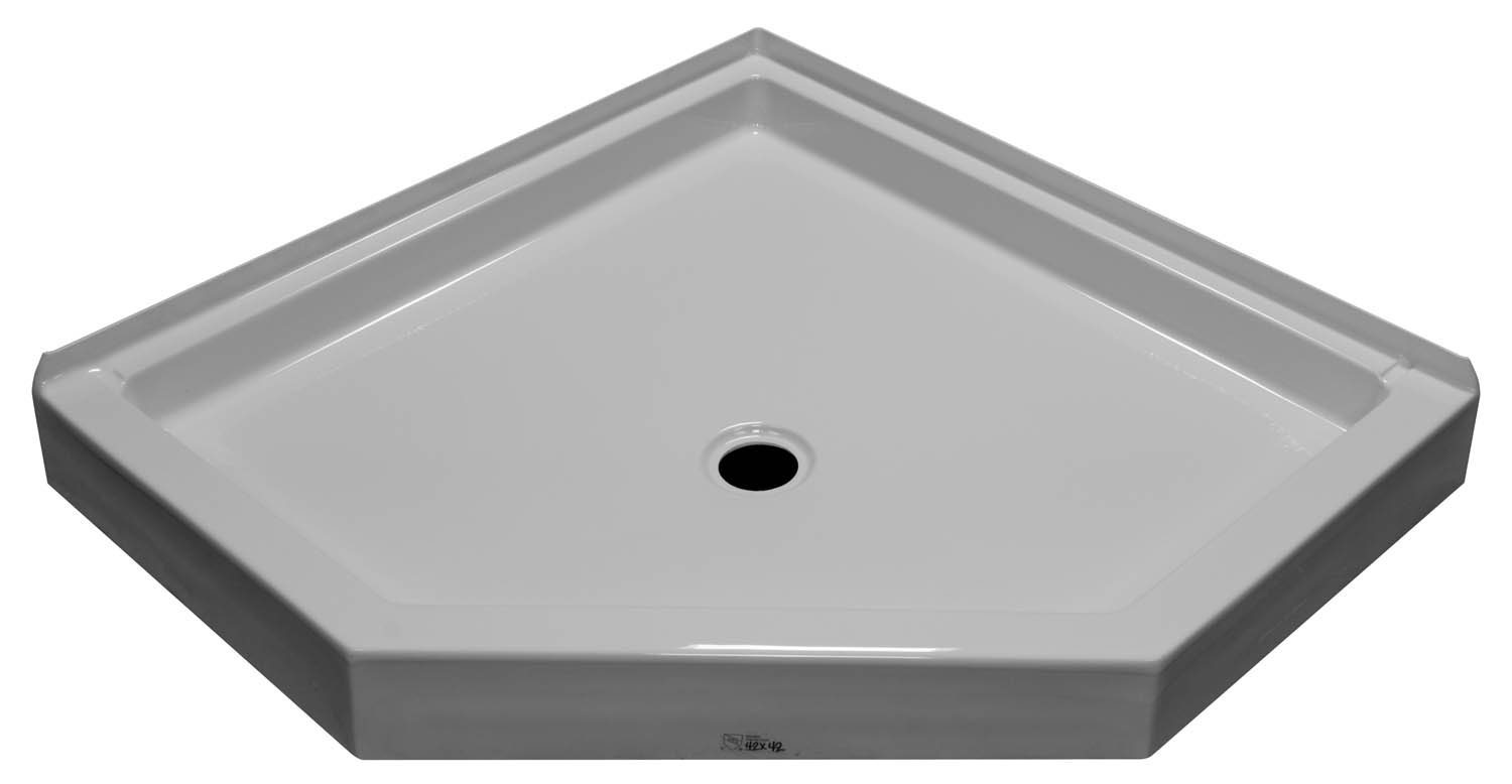 42×42 Neo Angle Shower Pan SP 4242N