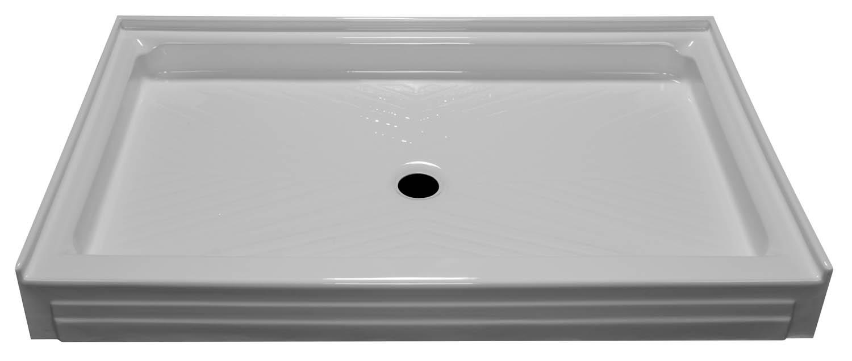 54x34 Single Threshold Shower Pan SP-5434 - BathTubs.com